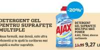 Detergent gel suprafete Multiple Max Power Ajax