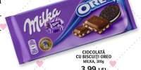 Ciocolata cu biscuiti Oreo Milka