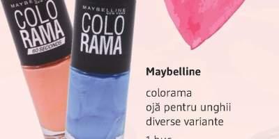 Maybelline Colorama oja pentru unghii