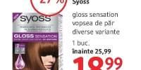 Syoss Gloss Sensation vopsea de par