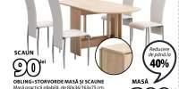 Obling+Storvorde masa si scaune