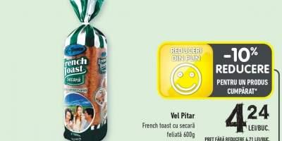 Vel Pitar french toast cu secara