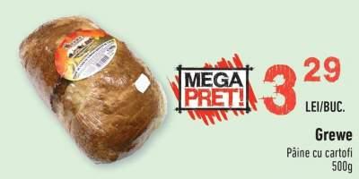Grewe paine cu cartofi