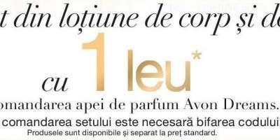 Set Avpn Dreams la 1 leu la comandarea apei de parfum
