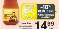 Jamie Oliver sos tomate, ricotta si busuioc