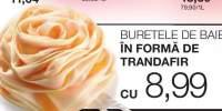 Burete de baie in forma de trandafir