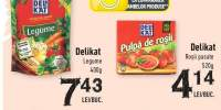 Delikat legume/ rosii pasate