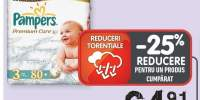 Scutece Pampers Premium Care