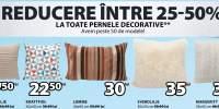 Reducere intre 25-50% la toate pernele decorative