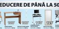 Reducere de pana la 50% la mobilierul pentru birou