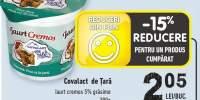 Covalact de Tara iaurt cremos 5% grasime