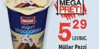 Muller Pezzi iaurt cu stracciatella