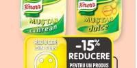 Knorr mustar clasic/ cu hrean/ dulce