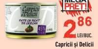 Capricii si Delicii pate cu ficat de curcan