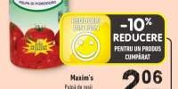 Maxim's pulpa de rosii