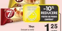 7Days croissant cu crema de cacao/ sampanie