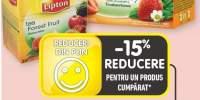 Lipton ceai capsuni/ lamaie/ fructe de padure