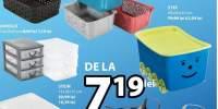 Reducere de 20% la toate cutiile de depozitare din plastic