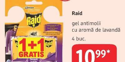 Raid gel antimolii