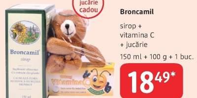 Broncamil sirop+vitamina C
