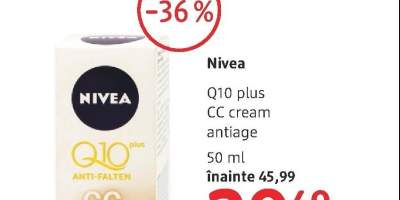 Nivea Q10 Plus CC cream antiage