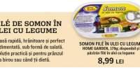 Somon file in ulei cu legume Home Garden