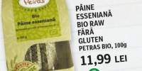 Paine esseniana bio raw fara gluten