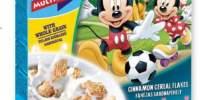 Cereale din grau integral cu scortisoara Disney