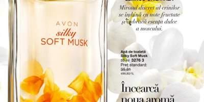 Apa de toaleta Silky Soft Musk