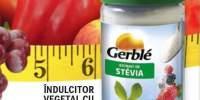 Indulcitor vegetal cu stevia