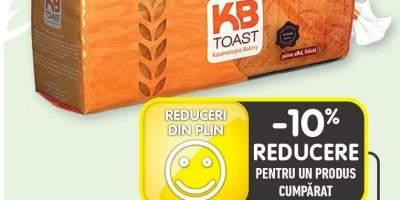 K8 toast paine alba