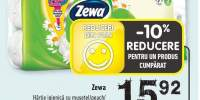 Zewa hartie igienica cu musetel/piersica/ Delicat Care/ lavanda