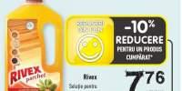 Rixex solutie pentru parchet cu ulei de masline