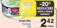Scandia Sibiu pate de porc