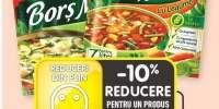 Delikat bors magic cu legume/ verdeturi