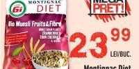 Montignac Diet bio musli fructe&fibre