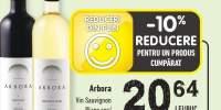 Arbora vin Sauvignon blanc sec/ Pinot Noir