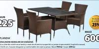 Andria/Bork mobilier de gradina