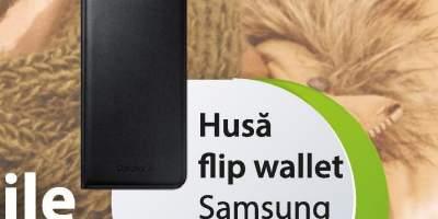 Husa flip wallet Samsung