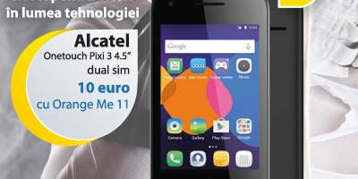 Alcatel Onetocuh Pixi 3 4.5 inci dual sim