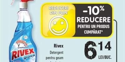 Rivex detergent pentru geam cu pulverizator
