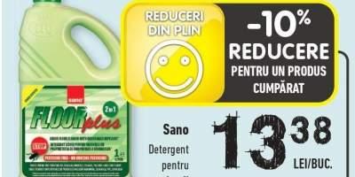 Sano detergent pentru pardoseli
