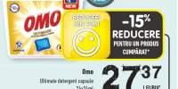 OMO ultimate detergent capsule