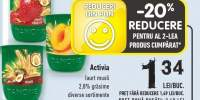 Activia iaurt musli 2,8% grasime