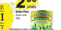 Green Peas mazare verde