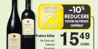 Prahova Valley vin Pinot noir/ Cabernet Sauvignon
