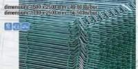 Panou gard zincat plastifiat verde