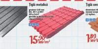 Tigla cutata zincata/ metalica/ ceramica