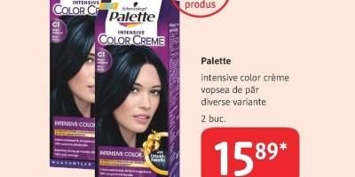 Palette intensive color creme vopsea de par