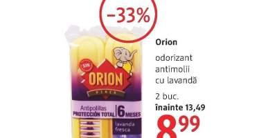 Orion odorizant antimolii cu lavanda